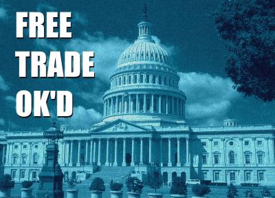 Congress OK's free trade deals