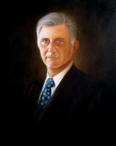 Legacy: One day, this picture will hang in the hollow chambers of the state capitol. What stories will the tour guides tell about Gov. Beebe?