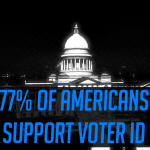 77 percent support voter ID