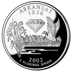Arkansas quarter