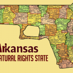 A new map of Arkansas.