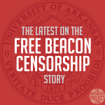 Free Beacon Censorship (U of A Emblem)