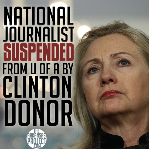 Hillary Journalist Suspended