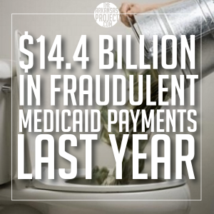 Medicaid Fraud ($14.4 Billion)