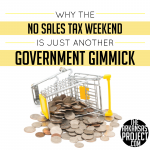 Sales Tax Free Weekend