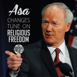 Governor Changes Tune On Religious Freedom Bill