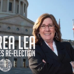 Lea Announces Re-Election, Cites Taxpayer Savings