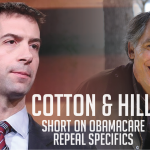 Cotton, Hill Short on O'Care Repeal Specifics at Town Hall