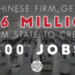 Chinese Tech Firm Gets $16 Million From State To Create 800 Jobs