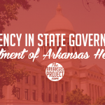 Efficiency in State Government: Department Of Arkansas Heritage