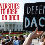 Arkansas Universities Rush To Bash Trump On DACA