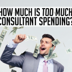 How much is too much consultant spending?