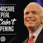 O'Care Repeal McCain't Happening