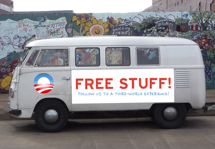 A design idea for the coming Obamacare vans.