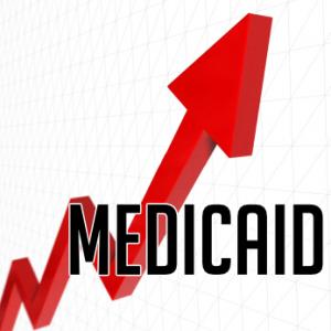 Medicaid increasing