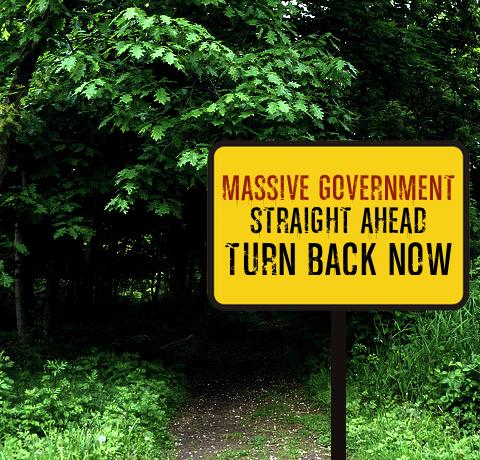govt ahead, turn back