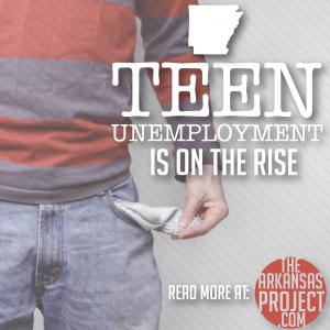 Teen Unemployement Rising