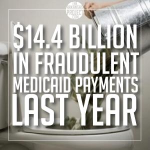 Medicaid Fraud ($14.4 Billion)