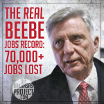 The Real Beebe Jobs Record