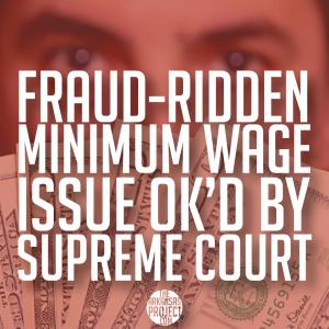 Minimum Wage (Supreme Court)
