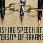 Quashing Speech at the University of Arkansas?