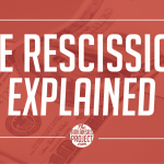 The Rescission, Explained