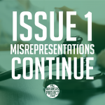 The Misrepresentations about Issue 1 Continue