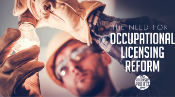 The Need for Occupational Licensing Reform